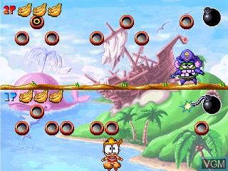 Image in-game du jeu Treasure Island sur GamePark Holdings Game Park 32