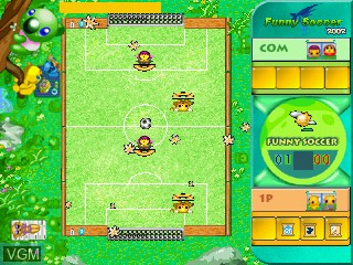Image in-game du jeu Funny Soccer 2002 sur GamePark Holdings Game Park 32