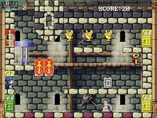 Image in-game du jeu Raphael sur GamePark Holdings Game Park 32