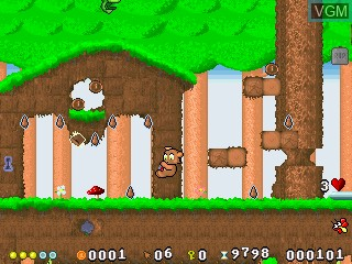 Image in-game du jeu Super Plusha sur GamePark Holdings Game Park 32