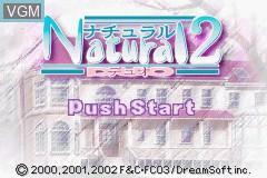 Image de l'ecran titre du jeu Natural 2 - Duo sur Nintendo GameBoy Advance