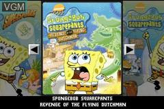 Image de l'ecran titre du jeu 2 Games in 1 - SpongeBob SquarePants - SuperSponge & Revenge of the Flying Dutchman sur Nintendo GameBoy Advance