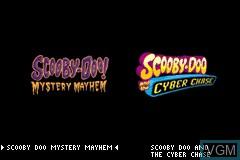 Image de l'ecran titre du jeu 2 Games in 1 - Scooby-Doo! - Mystery Mayhem & Scooby-Doo! and the Cyber Chase sur Nintendo GameBoy Advance
