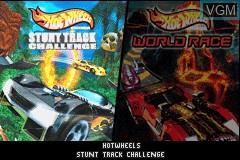 Image de l'ecran titre du jeu 2-in-1 - Hot Wheels - Stunt Track Challenge & Hot Wheels - World Race sur Nintendo GameBoy Advance