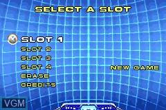 Image du menu du jeu X2 - Wolverine's Revenge sur Nintendo GameBoy Advance