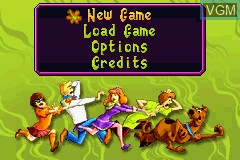 Image du menu du jeu 2 Games in 1 - Scooby-Doo! - Mystery Mayhem & Scooby-Doo! and the Cyber Chase sur Nintendo GameBoy Advance
