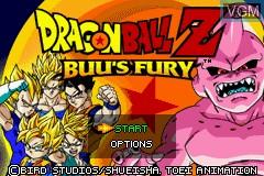 Image du menu du jeu 2-in-1 - Dragon Ball Z Gamepack - Buu's Fury & GT - Transformation sur Nintendo GameBoy Advance