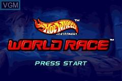 Image du menu du jeu 2-in-1 - Hot Wheels - Stunt Track Challenge & Hot Wheels - World Race sur Nintendo GameBoy Advance
