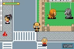 Image in-game du jeu Zettaizetsumei Dangerous Jiisan Tsuu - Ikari no Oshioki Blues sur Nintendo GameBoy Advance