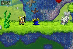2 Games in 1 - SpongeBob SquarePants - SuperSponge + SpongeBob SquarePants - Battle for Bikini Bottom