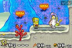 2 Games in 1 - SpongeBob SquarePants - Battle for Bikini Bottom + Jimmy Neutron Boy Genius