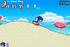 2 Games in 1 - Sonic Advance + Sonic Battle