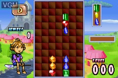 Image in-game du jeu 2 Games in 1 - Columns Crown & Chu Chu Rocket! sur Nintendo GameBoy Advance