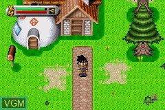Image in-game du jeu 2-in-1 - Dragon Ball Z Gamepack - The Legacy of Goku I & II sur Nintendo GameBoy Advance