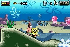 2 Games in 1 - The SpongeBob SquarePants Movie + SpongeBob SquarePants and Friends in Freeze Frame Frenzy