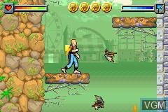 Image in-game du jeu Ace Lightning sur Nintendo GameBoy Advance