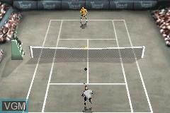 Image in-game du jeu Agassi Tennis Generation sur Nintendo GameBoy Advance