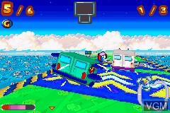 Image in-game du jeu Inspector Gadget Racing sur Nintendo GameBoy Advance