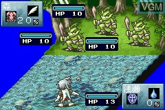Image in-game du jeu Tales of the World - Summoner's Lineage sur Nintendo GameBoy Advance