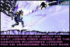 Image in-game du jeu X2 - Wolverine's Revenge sur Nintendo GameBoy Advance