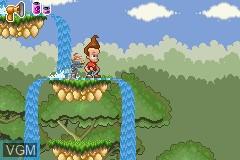Image in-game du jeu Adventures of Jimmy Neutron Boy Genius, The - Jet Fusion sur Nintendo GameBoy Advance