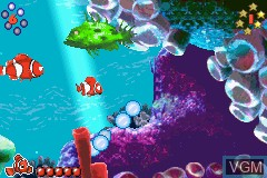 Image in-game du jeu 2 Games in 1 - Monstrous SA & Buscando a Nemo sur Nintendo GameBoy Advance