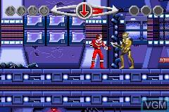 Image in-game du jeu 2 Games in 1 - Power Rangers - Ninja Storm & Power Rangers - Time Force sur Nintendo GameBoy Advance