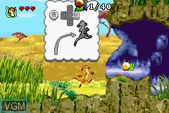 Image in-game du jeu 2 Games in 1 - Brother Bear & The Lion King sur Nintendo GameBoy Advance