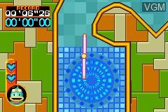 Image in-game du jeu Kurukuru Kururin sur Nintendo GameBoy Advance