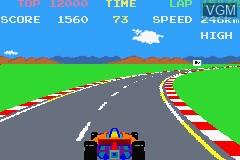 Image in-game du jeu Namco Museum sur Nintendo GameBoy Advance