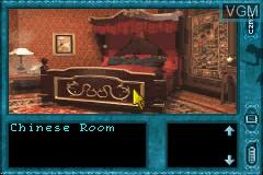 Image in-game du jeu Nancy Drew - Message in a Haunted Mansion sur Nintendo GameBoy Advance