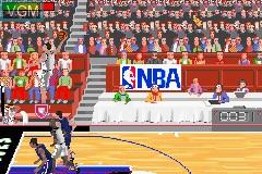 Image in-game du jeu NBA Jam 2002 sur Nintendo GameBoy Advance