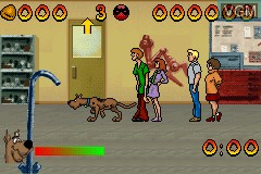 Image in-game du jeu 2 Games in 1 - Scooby-Doo! - Mystery Mayhem & Scooby-Doo! and the Cyber Chase sur Nintendo GameBoy Advance