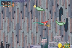 Image in-game du jeu 2-in-1 - Hermano Oso & Disney Princesas sur Nintendo GameBoy Advance
