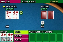 Image in-game du jeu 2-in-1 - Golden Nugget Casino & Texas Hold'em Poker sur Nintendo GameBoy Advance