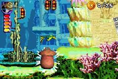 Image in-game du jeu 2-in-1 - Shark Tale & Shrek 2 sur Nintendo GameBoy Advance