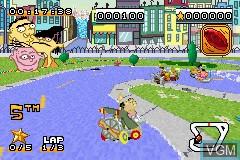 Image in-game du jeu 2-in-1 - Cartoon Network - Block Party & Cartoon Network - Speedway sur Nintendo GameBoy Advance