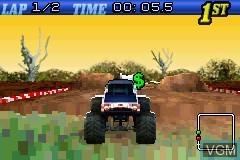 Image in-game du jeu 2-in-1 - Quad Desert Fury & Monster Trucks sur Nintendo GameBoy Advance