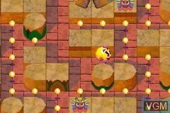 Image in-game du jeu 2-in-1 - Pac-Man Gamepack - Pac-Man World & Ms. Pac-Man - Maze Madness sur Nintendo GameBoy Advance