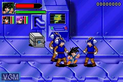 Image in-game du jeu 2-in-1 - Dragon Ball Z Gamepack - Buu's Fury & GT - Transformation sur Nintendo GameBoy Advance