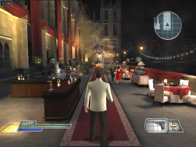 Image du menu du jeu 007 - From Russia with Love sur Nintendo GameCube