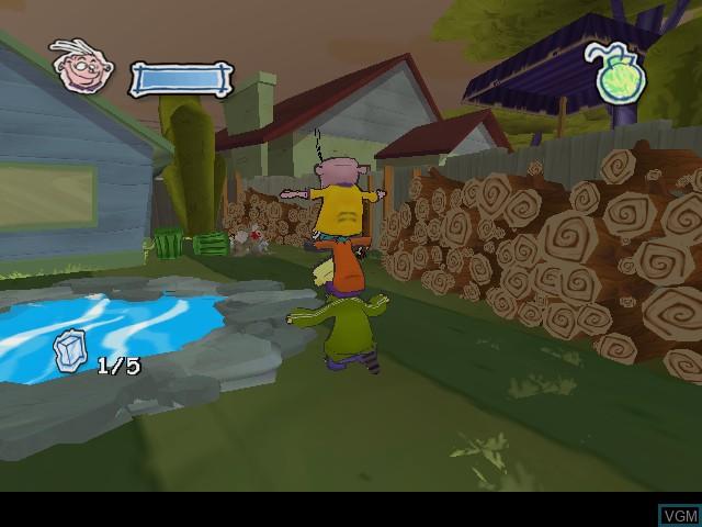 Image in-game du jeu Ed, Edd n Eddy - The Mis-Edventures sur Nintendo GameCube