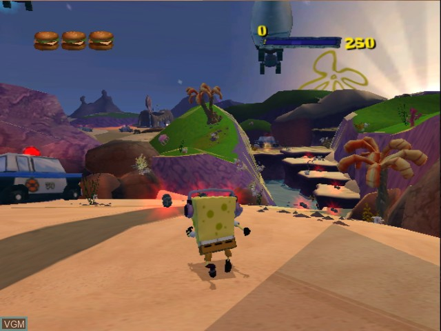 2 Games in 1 - Nickelodeon SpongeBob Schwammkopf - Der Film + Nickelodeon SpongeBob Schwammkopf - Schlacht um Bikini Bottom