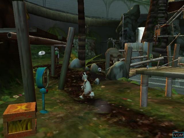 Wallace & Gromit dans le Projet Zoo