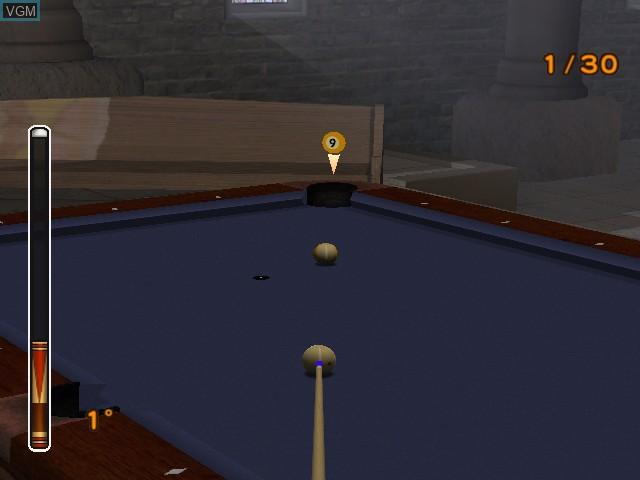 Image in-game du jeu Pool Edge sur Nintendo GameCube