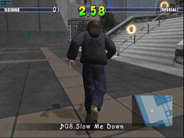 Image in-game du jeu Evolution Skateboarding sur Nintendo GameCube