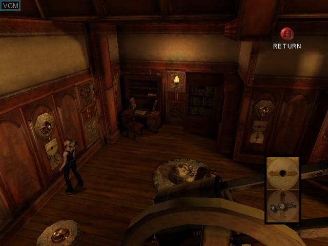 Image in-game du jeu Eternal Darkness - Sanity's Requiem sur Nintendo GameCube