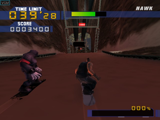 Image in-game du jeu Evolution Snowboarding sur Nintendo GameCube