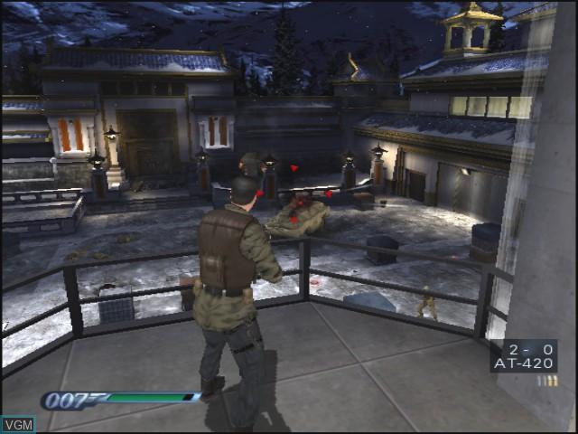 Image in-game du jeu 007 - Everything or Nothing sur Nintendo GameCube