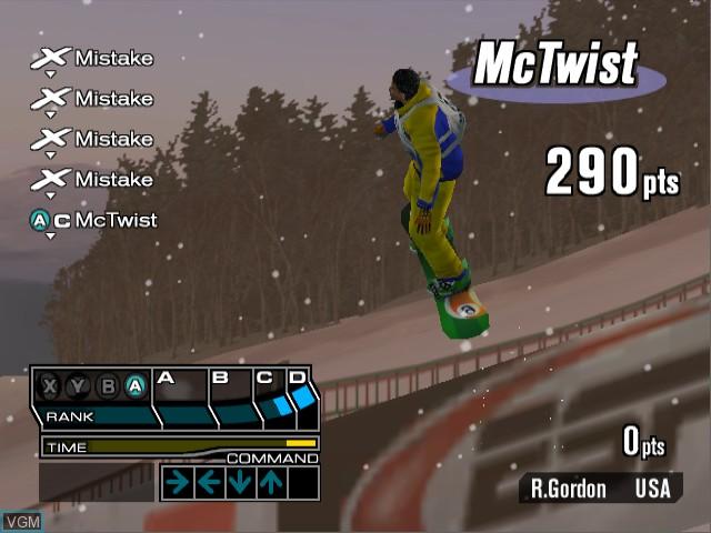 Image in-game du jeu ESPN International Winter Sports 2002 sur Nintendo GameCube